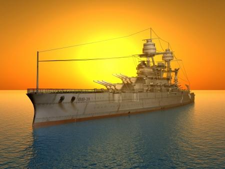 battleship: American Battleship USS Arizona