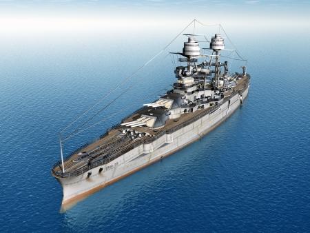 Amerikaanse slagschip USS Arizona Stockfoto
