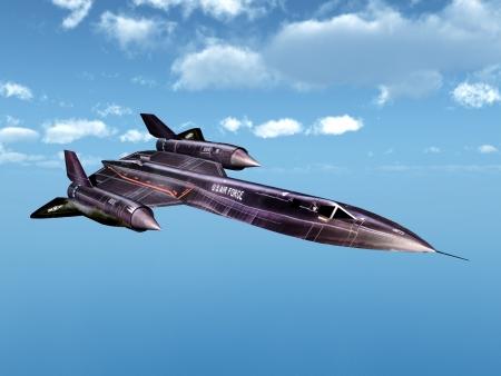 mach: Reconnaissance Aircraft SR-71