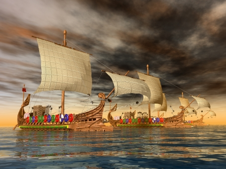 Ancient Roman Warships