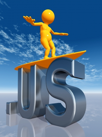 silver surfer: US Top Level Domain of the United States of America