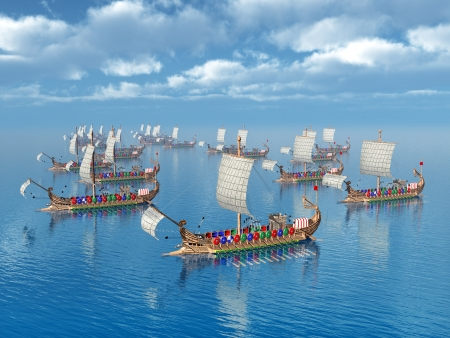galley: Ancient Roman Warships