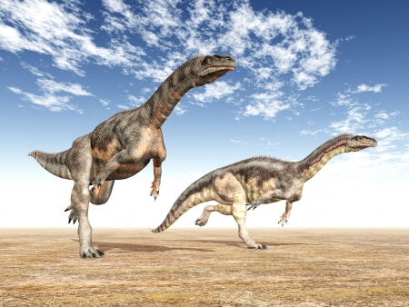 恐竜プラテオサウルス