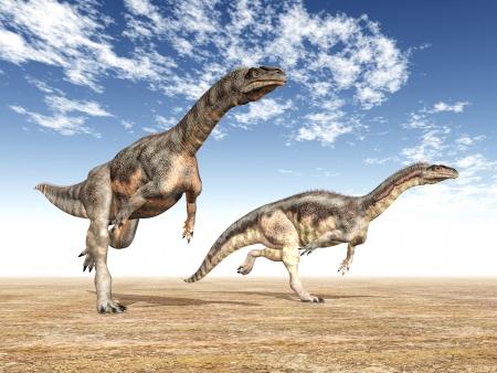 Dinozor Plateosaurus