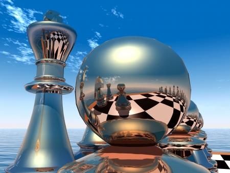 chess game: Chess Figures