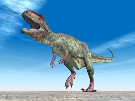 enormously: Dinosaur Giganotosaurus
