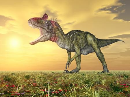 enormously: Dinosaur Cryolophosaurus