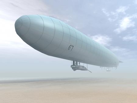第一次世界大戦のドイツの飛行船