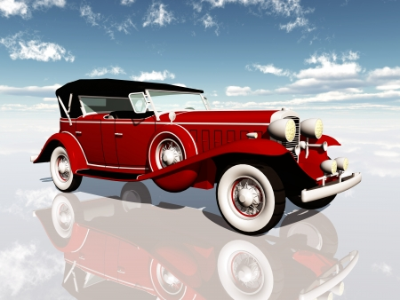 American Car from the 1930s
