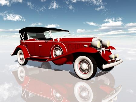 Amerikaanse auto uit de jaren 1930