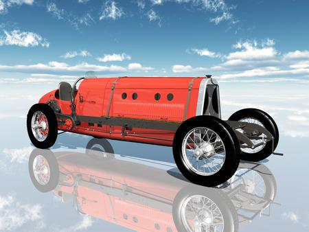 motor racing: Italian Racing Car from the 1920s