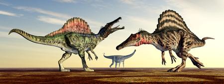 enormously: Spinosaurus and Puertasaurus