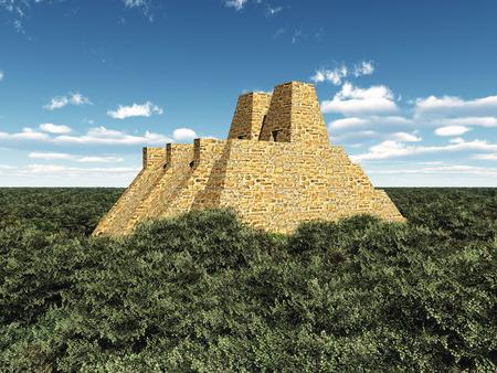 Temple of the Aztecs Stok Fotoğraf