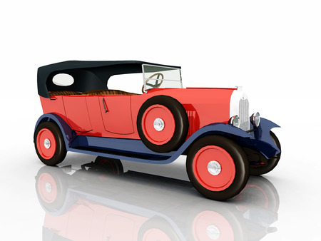 restored: French Automobile from the 1920s