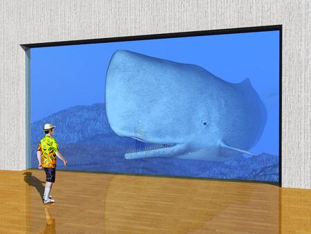 pane: The Visit to the Aquarium