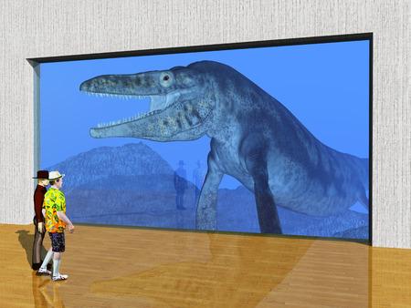 aquarium visit: The Visit to the Aquarium