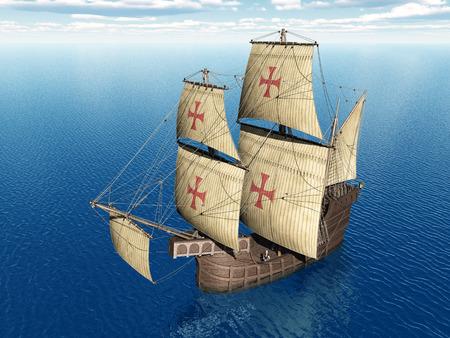caravelle: Portugais Caravel du XVe si�cle