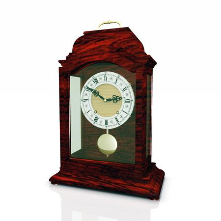reloj de pendulo: Reloj de P�ndulo Foto de archivo