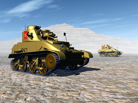 world war ii: British Light Tank of World War II