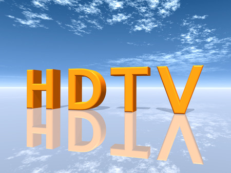 hdtv: HDTV word