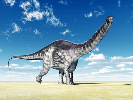 Dinosaur Apatosaurus photo