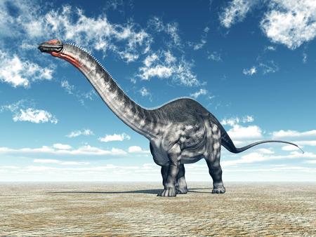 Dinosaur Apatosaurus photo