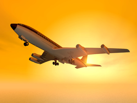 Airliner Stock Photo