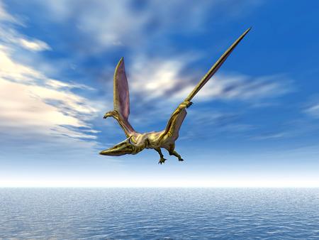 pterosaur: Pterosaur Quetzalcoatlus