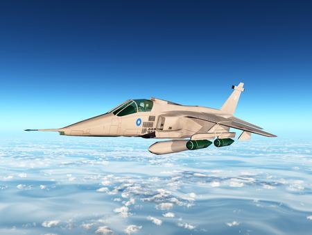 avion de chasse: Avions de combat Banque d'images