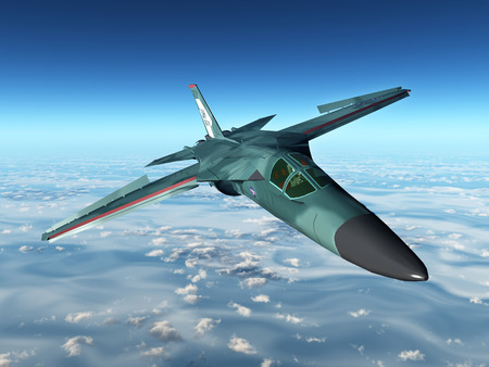 avion de chasse: Amérique Strike Aircraft de la guerre froide