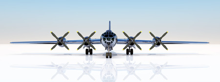 B-29 Superfortress of World War II Stok Fotoğraf