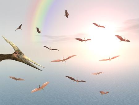 Ocean Sailing Pteranodon Ingens photo