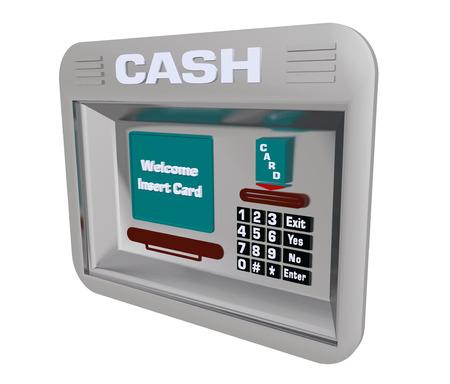 cash machine: Cash Machine isolated on white background