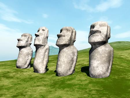 moai: Moai Statues