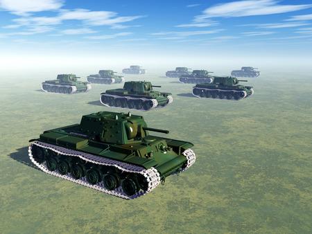 world war two: Russian Heavy Tanks of World War II