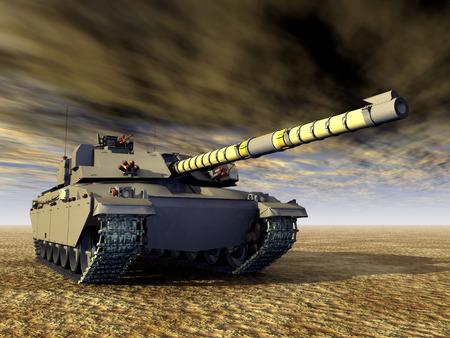 war tank: British tanque de batalla principal