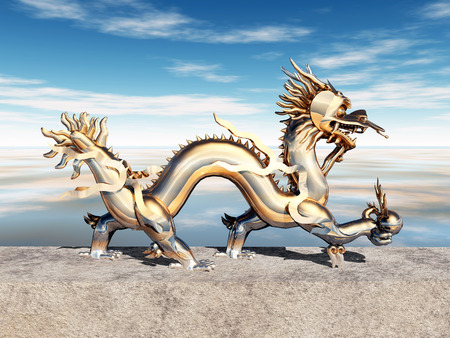 龍の像 写真素材 - 28506550