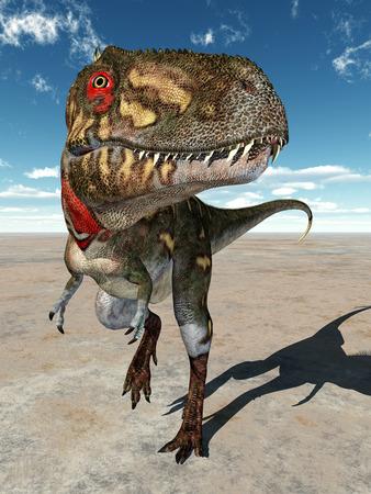 Dinosaur Nanotyrannus Stock Photo - 28506674