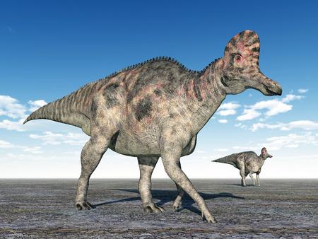 恐竜 Corythosaurus