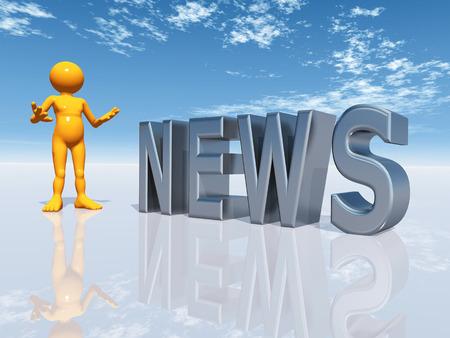 newscaster: NEWS