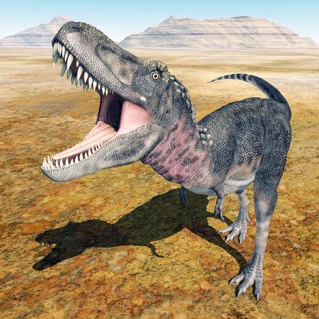 gigantic: Dinosaur Tarbosaurus