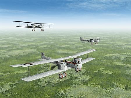 German Heavy Bomber Gotha of World War I
