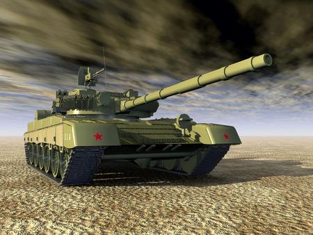 war tank: Rusia Tanque de batalla principal Foto de archivo