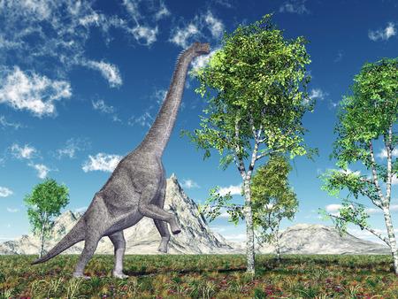 Dinosaur Brachiosaurus