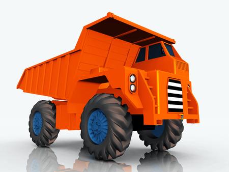 camion volquete: Dump Truck