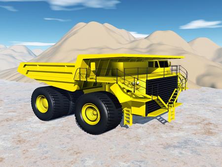the dump truck: Dump Truck