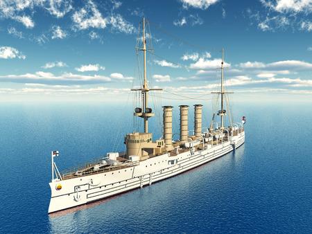 flagship: German Light Cruiser from the First World War