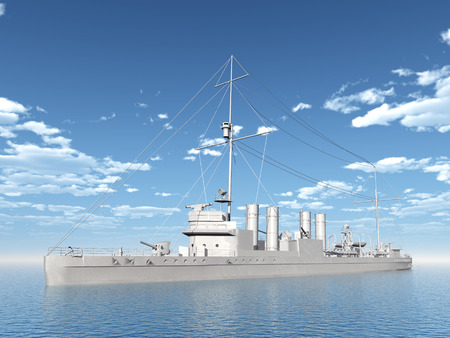 the destroyer: Wickes-class Destroyer of the Allied from the second world