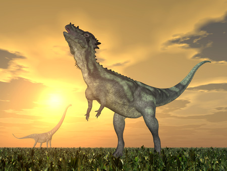 The Dinosaurs Mamenchisaurus Pachycephalosaurus and
