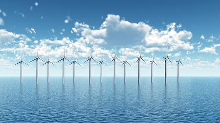 wind farm: Offshore Wind Farm